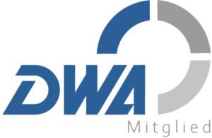 Logo: Mitglieder der DWA (Deutsche Vereinigung für Wasserwirtschaft, Abwasser und Abfall e. V.)