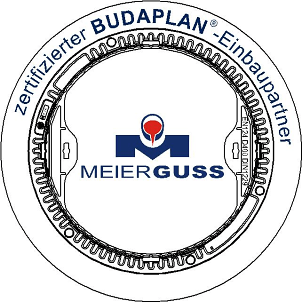 Logo: Zertifizierter Budaplan Einbaupartner