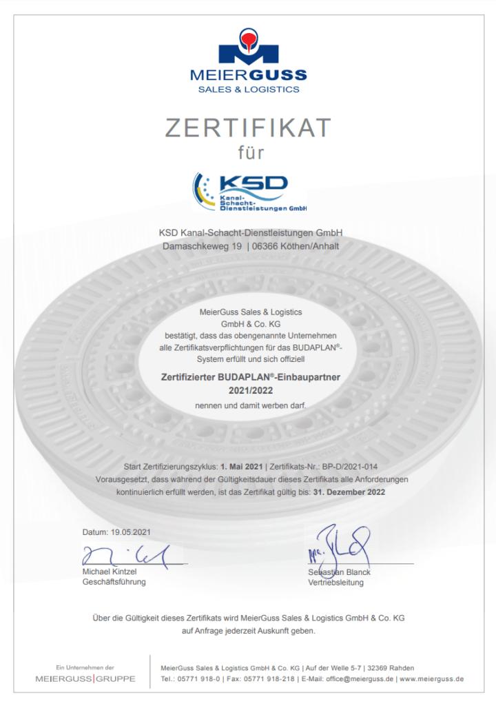 Meierguss Zertifikat 2021/2022