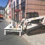Neueinbau Straßenkappen